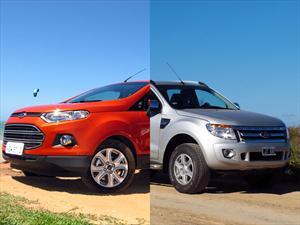 Ford EcoSport y Ranger reciben premios internacionales