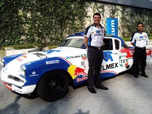 Memo Rojas Jr. participará en la Carrera Panamericana 2013