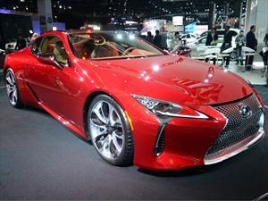 Lexus LC 500 2017, un nuevo coupé deportivo