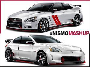 Nismo fusiona modelos Nissan para lograr creaciones locas