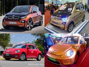 Estas son las copias chinas del BMW i3 y Volkswagen Beetle