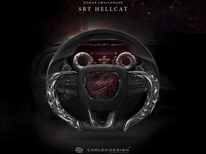 Carlex Design crea volante para el Dodge Challenger Hellcat