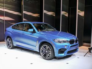 BMW X5 M y X6 M 2015 se presentan