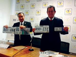 Ciudad de México estrena nuevas placas vehiculares
