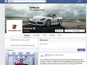 Porsche alcanza 10 millones de fans en Facebook