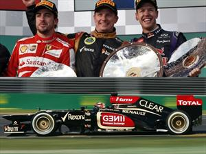 F1 GP de Australia: La primera carrera es para Kimi Raikkonen y Lotus