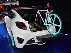 Hyundai Veloster C3 Roll Top Concept: Deportivo multiproposito