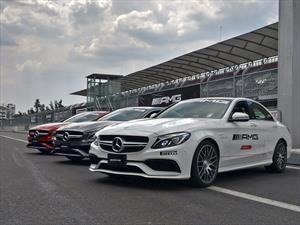 AMG celebra 50 años en el Autódromo Hermanos Rodríguez