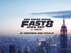 La octava película de Rápidos y Furiosos se estrenará en abril de 2017