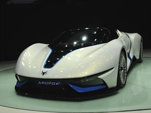 BAIC Arcfox-7, un super auto chino y eléctrico
