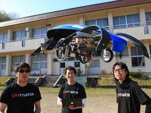 Skydrive, ¿ahora sí, el primer auto volador?