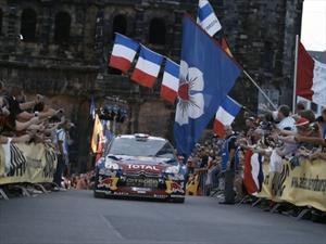 WRC: Sébastien Loeb logra su noveno triunfo consecutivo en el Rally de Alemania