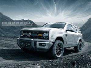 ¿Así será el futuro Ford Bronco?
