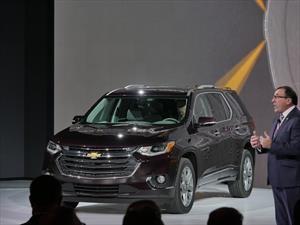 Chevrolet Traverse 2018, con más espacio y tecnología