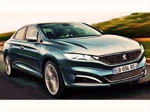 Peugeot evalúa el desarrollo de un sedán de lujo denominado 608