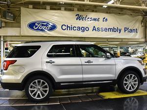 Ford Explorer 2016 inicia producción en Chicago