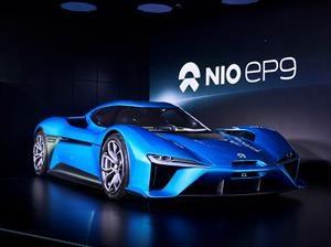 NIO EP9 es el auto eléctrico más rápido del mundo