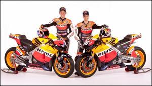 Moto GP: Se presentó el equipo oficial Honda