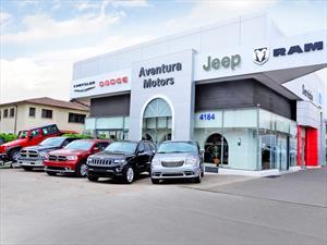 Chrysler cuenta con nuevo local en Santiago