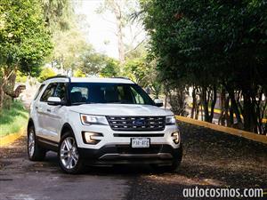 Ford Explorer 2016 a prueba