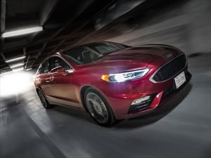 Ford Fusion Sport 2017 a prueba