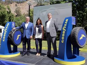 Gira mundial de Goodyear trae a Chile exclusivos neumáticos conceptuales