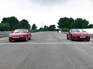 Mazda MX-5 vs Miata, las diferencias entre la primera y última generación
