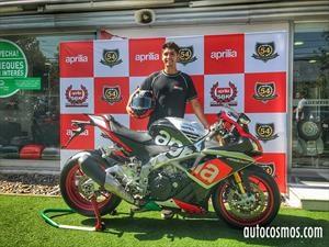 Maxi Scheib firma con Aprilia para el Mundial de Superbike 2017 y 2018