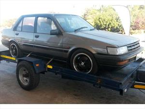 Recupera su Toyota Corolla robado hace 22 años
