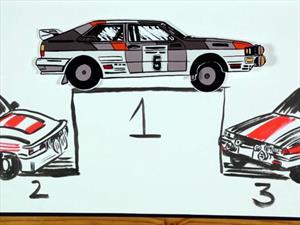 Conocé la historia del WRC en una divertida animación