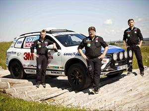 Volkswagen Touareg impone nuevo récord en Cape to Cape
