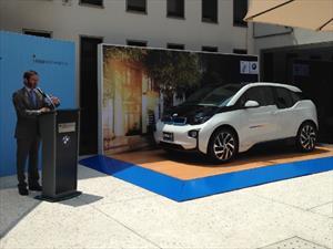 BMW inaugura estación de recarga en la Embajada de Alemania en México
