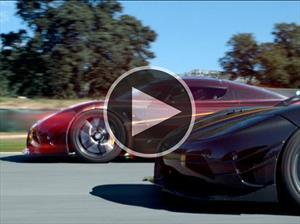 Video: Aston Martin Vulcan y Koenigsegg One: 1 en el Circuito Ascari