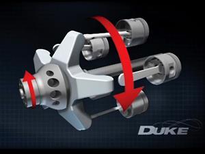 Este motor axial va a cambiar tu concepción de la mecánica
