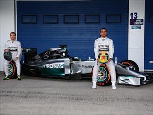 F1: Mercedes-Benz W05 se presenta