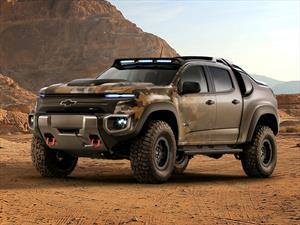 Chevrolet Colorado ZH2, pickup militar impulsada por una pila de combustible