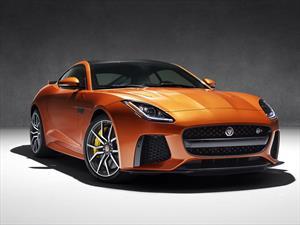 Jaguar F-Type SVR, auto más veloz de la marca inglesa