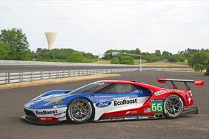 Este es el Ford GT con el que la marca regresa a las 24 Horas de Le Mans en 2016