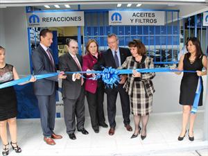 Mopar inaugura su segunda tienda en México