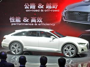 Audi Prologue Allroad Concept se presenta