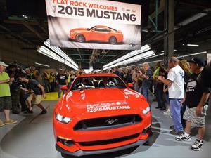 Comienza la producción del Ford Mustang 2015