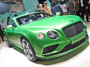 Bentley Continental GT 2016, más lujo y poder