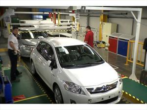 Toyota marca récord en la producción de vehículos