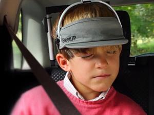 SiestUP permite a los niños dormir en el auto con seguridad