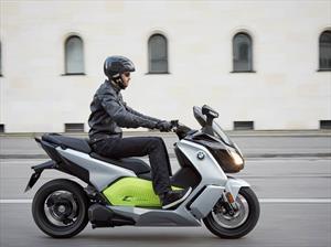 BMW C evolution: scooter eléctrico con doble cara