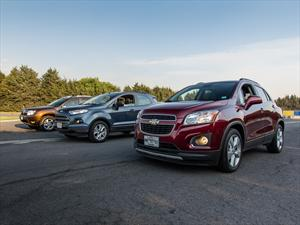 Comparativa: Chevrolet Tracker vs. Ford Ecosport vs Renault Duster