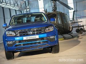 Volkswagen Amarok V6 se lanza en Argentina