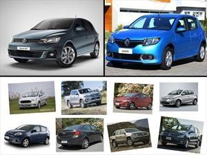 Top 10: los autos más vendidos de Argentina en abril de 2017