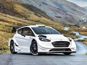 WRC este es el Ford Fiesta para el Campeonato 2017