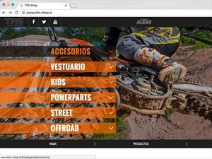 Debuta en Chile KTM Shop, tienda online de accesorios